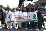 Article 35A: Tension in J&K ahead of hearing