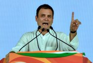 Rahul slams Modi over 'garbage city' jibe at Bengaluru