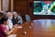Modi, Hasina launch 3 projects in Bangladesh