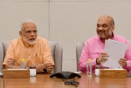 Grand gathering planned for Modi, Shah in Bhopal
