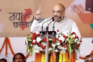 Shah launches BJP campaign in MP's Malwa-Nimad region