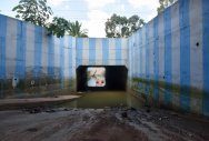 Underpass flooded, residents fear outbreak of dengue