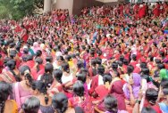 Anganwadi workers stage protests across Karnataka