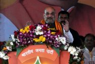 Shah makes tall claims in Bilaspur