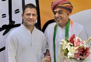 BJP co-founder's son joins Congress