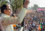 Chouhan's chariot journey abruptly halted
