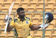 Karnataka lose rain-curtailed tie