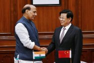 India, China ink security pact