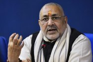 Hindus running out of patience: Giriraj Singh