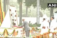 Prez, VP, Rajnath pay tributes to Sardar Patel