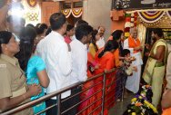 Hasanamba temple opens for darshan