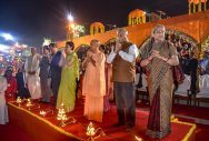 S Korean First Lady celebrates Diwali in Ayodhya