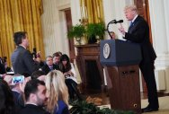 CNN sues over barring of reporter, WH vows defense