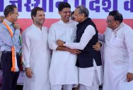Congress declares list of 152 candidates for Rajasthan