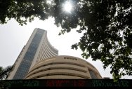 Sensex jumps 150+ pts on funds inflow, global cues