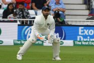 Pant equals record for most Test catches