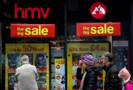 Historic music retailer HMV collapses for second time