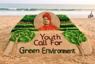 Sudarsan Pattnaik inspires youth through his sand art