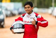 Young Ruhaan soaring high in the karting lane