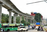 Elevated metro ruined city's beauty, shrunk its roads