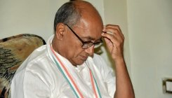 I am not in CM race; I never sulked: Digvijay Singh