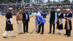 33-day long Kodava hockey tournament begins in Napoklu