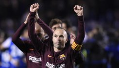 Chinese club denies move for Iniesta