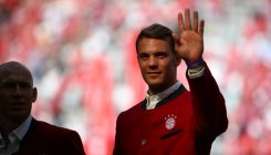 Neuer in Bayern's cup final squad