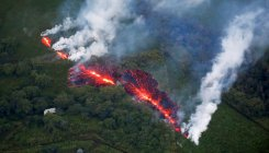 Hawaii lava flow ramps up as new magma mixes with old