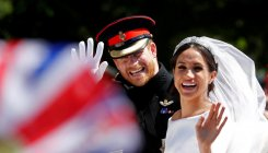 Prince Harry and Meghan Markle release wedding photos