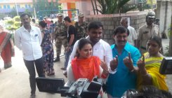 Voting underway for RR Nagar polls