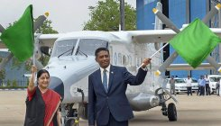 India gifts patrol aircraft to Seychelles