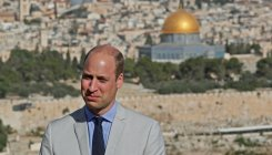 Prince William honours great-grandmother in Jerusalem
