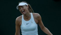 Sharapova rues missed chances