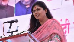 People encourage dynastic politics: Pankaja Munde