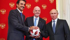 Russia hands over WC hosting duties to Qatar
