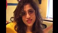 RJ Malishka makes mocking video on Mumbai potholes