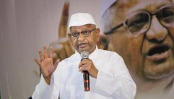 Hazare to launch hunger strike for Lokpal from Oct 2