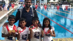 Puttur Aquatic Club swimmers win rich haul of medals