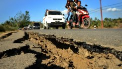 Indonesian island lifted 10 inches by deadly quake
