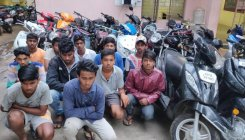 3 minors among 12 held in crackdown on wheelies