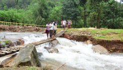 It's scary out there as hillocks, bridges collapse