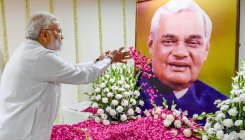 BJP out to encash Vajpayee's name in MP
