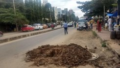 OFCs leave roads in a mess at Whitefield