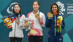 Heena Sidhu secures bronze at women's 10m air pistol