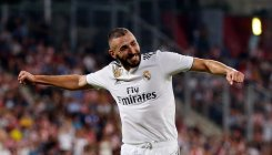Benzema's double spurs Real