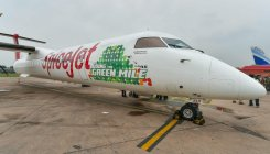 SpiceJet operates first-ever biojet fuel powered flight