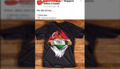 Indian-origin man fired for posting torn Singapore flag