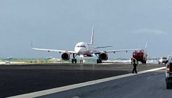Air India plane lands on wrong runway at Male airport