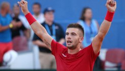 Davis Cup: Battling Coric fires Croatia into final